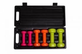 Набор гантелей для фитнеса в кейсе PowerPlay 4103, 6 кг