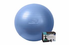 Мяч для фитнеса (фитбол) 65 см PowerPlay 4001 синий