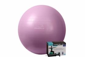 Мяч для фитнеса (фитбол) 75 см PowerPlay (4001) - фиолетовый