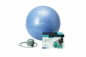 Мяч для фитнеса (фитбол) 65 см PowerPlay 4003 сиреневый