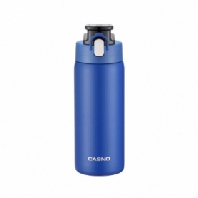 Термобутылка Casno KXN-6065 - синяя, 450 мл