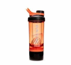 Шейкер з контейнером Casno KXN-1199 - оранжевый, 600 мл