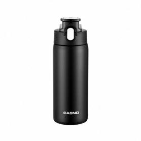 Термобутылка Casno KXN-6065 - черная, 450 мл