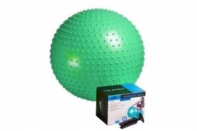 Мяч для фитнеса (фитбол) массажный 65 см PowerPlay 4002 (PP_4002_D65_Green), 65 см