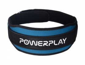 Пояс тяжелоатлетический PowerPlay 5545 (PP_5545_Blue)