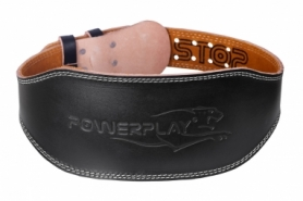Пояс тяжелоатлетический PowerPlay 5086 (PP_5086_Black)