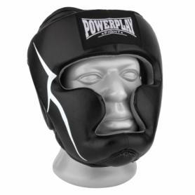 Шлем боксерский тренировочный PowerPlay 3066 PU + Amara (PP_3066_Black)