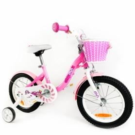 "Велосипед детский RoyalBaby Chipmunk MM Girls 14 розовый, рама - 14"" (CM14-2-pink)"