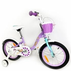 "Велосипед детский RoyalBaby Chipmunk MM Girls 14 фиолетовый, рама - 14"" (CM14-2-purple)"