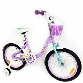 "Велосипед детский RoyalBaby Chipmunk MM Girls 16"" (CM16-2-purple) - фиолетовый"