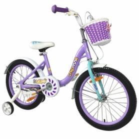 "Велосипед детский RoyalBaby Chipmunk MM Girls 18"" (CM18-2-purple) - фиолетовый"
