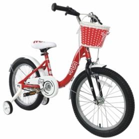 "Велосипед детский RoyalBaby Chipmunk MM Girls 16"" (CM16-2-red) - красный"