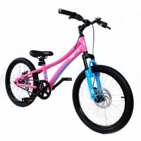 "Велосипед детский RoyalBaby Chipmunk Explorer 20"", рама - 14"" (CM20-3-pink)"
