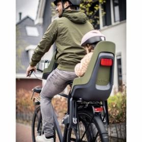 Велокресло детское Bobike Maxi One красное (8012200006) - Фото №6