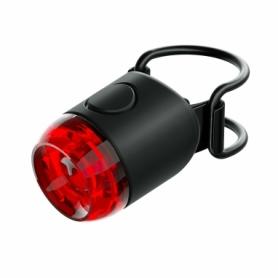 Мигалка задняя Knog Plug Rear 10 Lumens черная (12250)