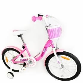 "Велосипед детский RoyalBaby Chipmunk MM Girls 18"" (CM18-2-pink) - розовый"