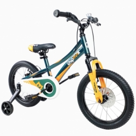 """Велосипед детский RoyalBaby Chipmunk Explorer 16"""" (CM16-3-Green) - зелёный"""