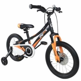 """Велосипед детский RoyalBaby Chipmunk Explorer 16"""" (CM16-3-Black) - черный"""