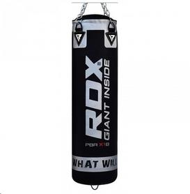Мешок боксерский RDX Leather Black 1.2 м