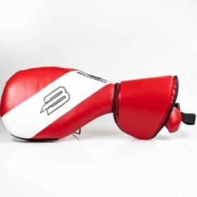 Ракетка (хлопушка) для тхэквондо двойная BoyBo LR-731, красная