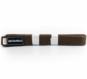 Пояс для кимоно BoyBo WS1-13 - коричневый 2,8 м