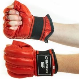 Шингарды кожа BoyBo SF14-33-4 красные