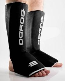 Защита для ног (голень + стопа) BoyBo черный, хлопок ZD-15