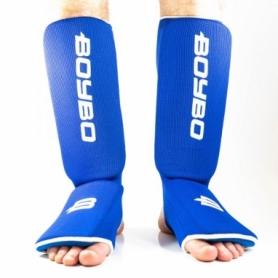 Защита для ног (голень + стопа) BoyBo синий, хлопок ZD-14