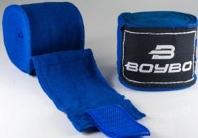Бинты боксерские BoyBo синие, 2,5 метра (GN-1425)