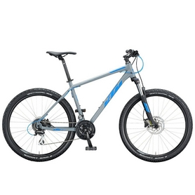 "Велосипед горный KTM Chicago Disc 27"", рама M, 2020 (20156138) - серо-синий"
