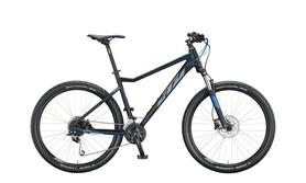 """Велосипед горный KTM Ultra Fun 27"""", рама S, 2020 (20151103) - черно-серый"""