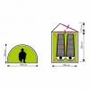 Палатка двухместная SportVida SV-WS0020 - Фото №2