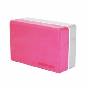 Блок для йоги SportVida SV-HK0336, розовый