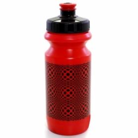 Фляга велосипедная Green Cycle Dot красная, 600 мл (BOT-18-19)