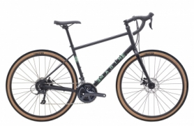 "Велосипед горный 28"" Marin Four Corners рама - L, 2020 Satin Black/Gloss Teal/Silver (SKD-80-39)"