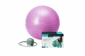 Мяч для фитнеса (фитбол) 7а см PowerPlay 4003 фиолетовый