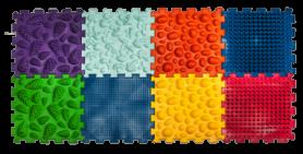 Коврик массажный Пазлы Микс (OL1173949452), 8 элементов