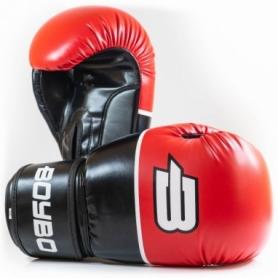 Перчатки боксерские BoyBo Ultra кожзаменитель, красные
