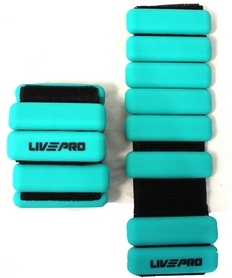 Утяжелители для рук 2 шт. по 0,5 кг LivePro Weighted Wrist Band (LP8287)