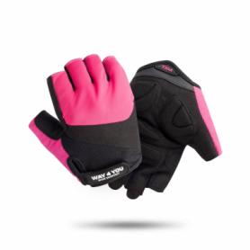 Перчатки женские для зала Way4you Pink (w-1752)