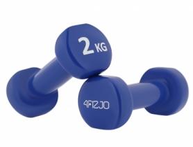 Гантели виниловые 4FIZJO (4FJ0195), 2 шт по 2 кг