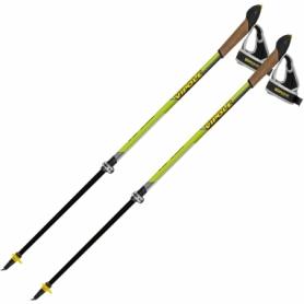 Палки для скандинавской ходьбы Vipole Instructor Vario QL Green DLX S2028 (SN928537), салатовые