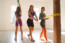 Набор эластичных лент для фитнеса Way4you Set of 3 (40159)