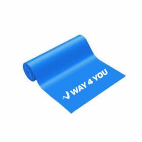 Лента эластичная для фитнеса Way4you Heavy (40162), синяя