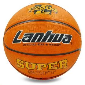 Мяч баскетбольный резиновый Lanhua F2304 №7