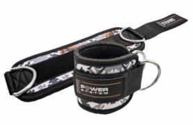 Манжеты на лодыжку Power System Ankle Strap Camo (PS_3470_Grey/Black), серые