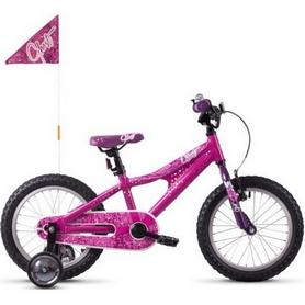 """Велосипед детский Ghost Powerkid 16"""", 2019 (18PK1009), розово-фиолетовый"""