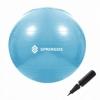 Мяч для фитнеса (фитбол) 55 см Springos Anti-Burst Sky Blue (FB0006)