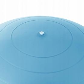 Мяч для фитнеса (фитбол) 55 см Springos Anti-Burst Sky Blue (FB0006) - Фото №6