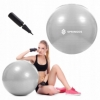 Мяч для фитнеса (фитбол) 75 см Springos Anti-Burst Grey (FB0008) - Фото №3